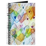 Community Hearts Color Journal
