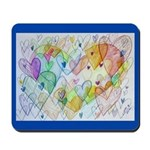 Community Hearts Color Mousepad