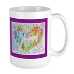 Community Hearts Color Large Mug