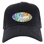 Community Hearts Color Black Cap