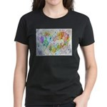 Community Hearts Color Women's Dark T-Shirt