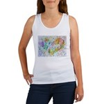 Community Hearts Color Women's Tank Top