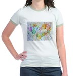 Community Hearts Color Jr. Ringer T-Shirt