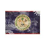Belize Flag Rectangle Magnet (100 pack)