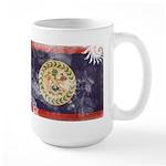 Belize Flag Large Mug