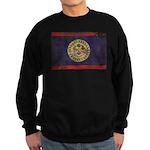 Belize Flag Sweatshirt (dark)