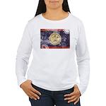 Belize Flag Women's Long Sleeve T-Shirt