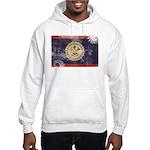 Belize Flag Hooded Sweatshirt