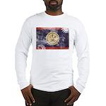 Belize Flag Long Sleeve T-Shirt