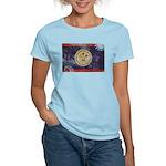 Belize Flag Women's Light T-Shirt