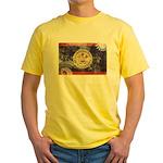Belize Flag Yellow T-Shirt