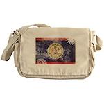 Belize Flag Messenger Bag