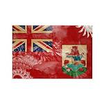 Bermuda Flag Rectangle Magnet (100 pack)