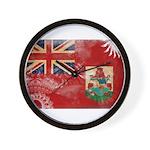Bermuda Flag Wall Clock