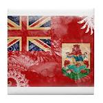 Bermuda Flag Tile Coaster