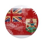 Bermuda Flag Ornament (Round)