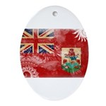 Bermuda Flag Ornament (Oval)