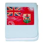 Bermuda Flag baby blanket