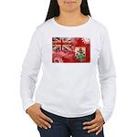 Bermuda Flag Women's Long Sleeve T-Shirt