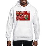 Bermuda Flag Hooded Sweatshirt