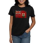Bermuda Flag Women's Dark T-Shirt