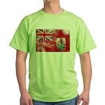 Bermuda Flag Green T-Shirt