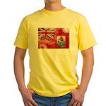 Bermuda Flag Yellow T-Shirt