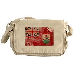Bermuda Flag Messenger Bag