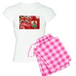 Bermuda Flag Women's Light Pajamas