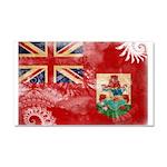 Bermuda Flag Car Magnet 20 x 12