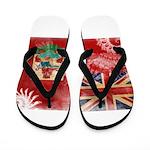 Bermuda Flag Flip Flops