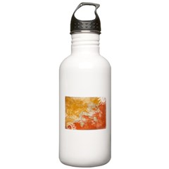 Bhutan Flag Water Bottle