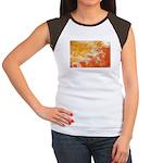 Bhutan Flag Women's Cap Sleeve T-Shirt