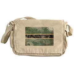 Botswana Flag Messenger Bag