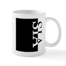 SIA Typography Small Mug