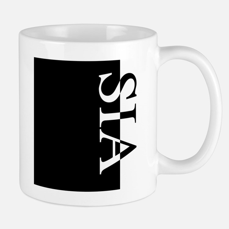 SIA Typography Small Small Mug