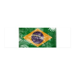 Brazil Flag 42x14 Wall Peel