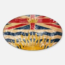 British Columbia Flag Decal