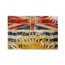 British Columbia Flag Rectangle Magnet