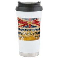 British Columbia Flag Travel Mug