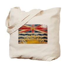 British Columbia Flag Tote Bag