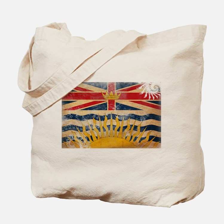 British Columbia Flag Tote Bag