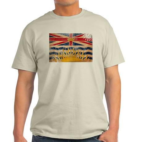 British Columbia Flag Light T-Shirt