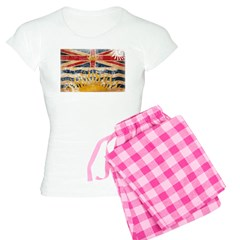 British Columbia Flag Pajamas