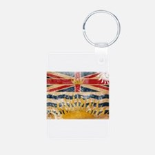 British Columbia Flag Keychains
