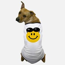 Perched Sunglasses Smiley Dog T-Shirt