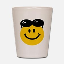 Perched Sunglasses Smiley Shot Glass