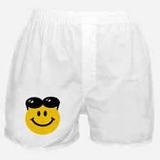 Perched Sunglasses Smiley Boxer Shorts
