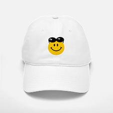 Perched Sunglasses Smiley Baseball Baseball Cap