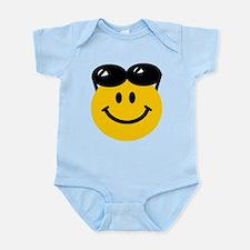 Perched Sunglasses Smiley Infant Bodysuit